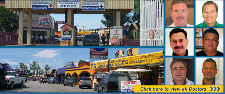 Where you can find a dentist in Los Algodones, Mexico?